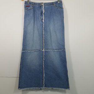 Lauren Ralph Lauren Long Jean Skirt Size 8